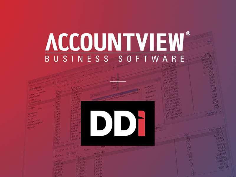 Nieuwe koppeling DDiFactuur met Accountview